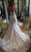 Load image into Gallery viewer, Ines Di Santo 'Cannes' size 4 used wedding dress back view on bride