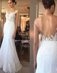 Anne Barge 'Hampton' size 0 new wedding dress front/back views on model