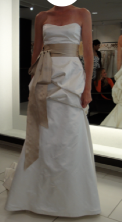 Monique Lhuillier 'Skye' - Monique Lhuillier - Nearly Newlywed Bridal Boutique - 9