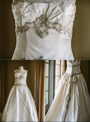 Kenneth Pool Majesty Ball Gown - Kenneth Pool - Nearly Newlywed Bridal Boutique - 2