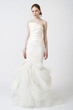 Load image into Gallery viewer, Vera Wang 'Fiona' Mermaid Asymmetrical Wedding Gown - Vera Wang - Nearly Newlywed Bridal Boutique - 1