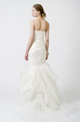 Vera Wang 'Fiona' Mermaid Asymmetrical Wedding Gown - Vera Wang - Nearly Newlywed Bridal Boutique - 2