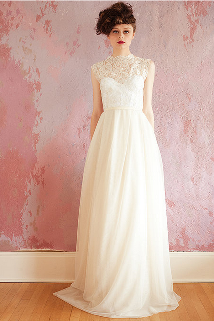 Sarah Seven Field of Flowers Wedding Dress - Sarah Seven - Nearly Newlywed Bridal Boutique - 4