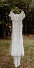 Grace Loves Lace 'Emanuela' size 6 used wedding dress front view on hanger
