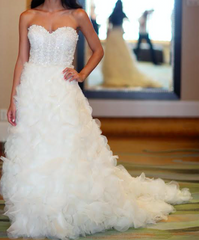 Lazaro '3161' - Lazaro - Nearly Newlywed Bridal Boutique - 1