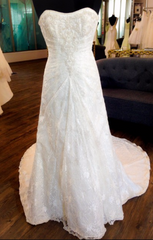 David's Bridal '9821' - David's Bridal - Nearly Newlywed Bridal Boutique - 4