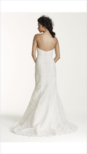 Load image into Gallery viewer, Oleg Cassini 'Strapless Trumpet' - Oleg Cassini - Nearly Newlywed Bridal Boutique - 2