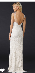 Catherine Deane 'Jolie' size 2 new wedding dress back view on model