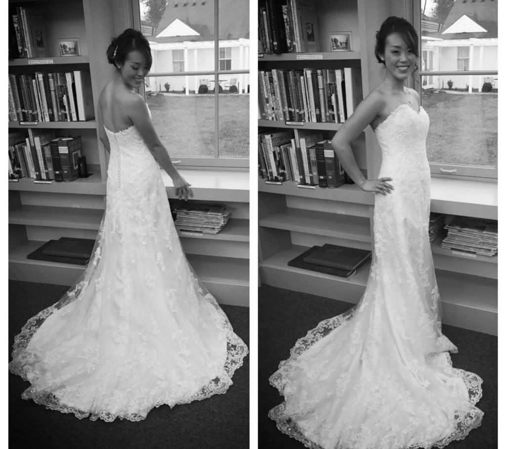 bbe2ccfad8b Maggie Sottero  Emma  size 4 used wedding dress multiple views ...