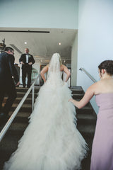 Davids Bridal 'Strapless Tulle' - David's Bridal - Nearly Newlywed Bridal Boutique - 1