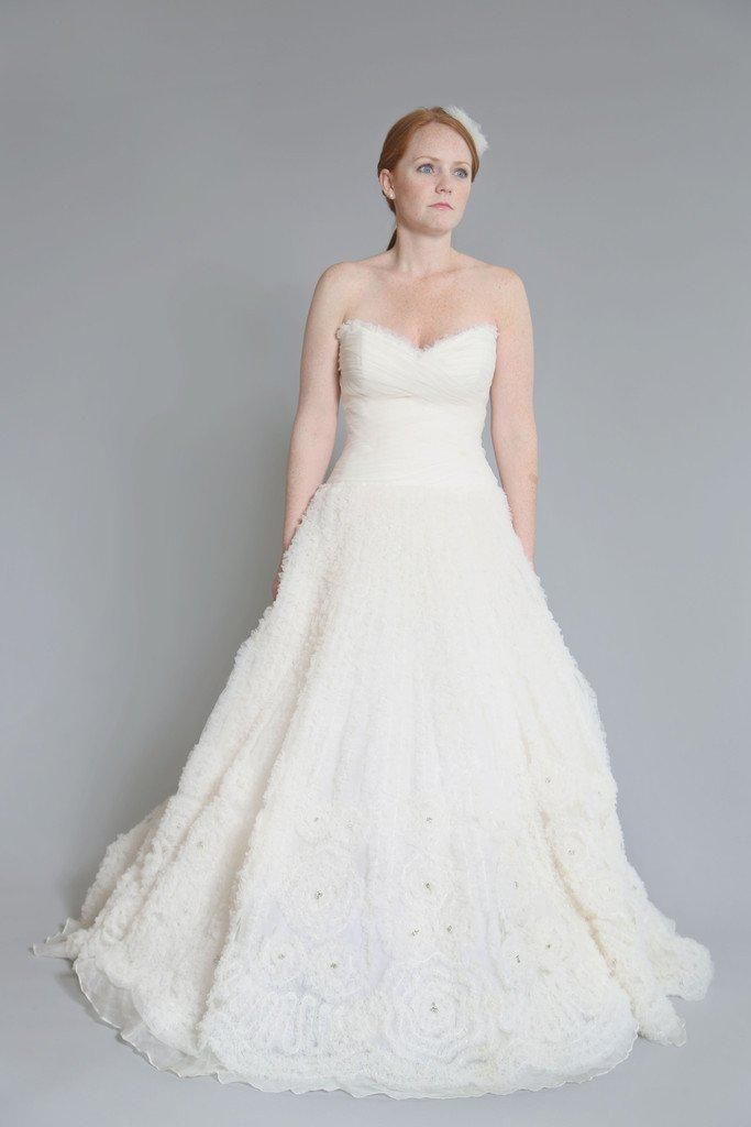 Rivini 'Kyra' Ruched Tulle Dress - Rivini - Nearly Newlywed Bridal Boutique - 2