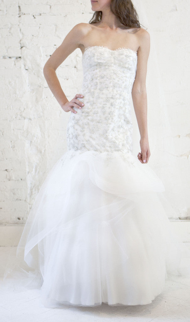 Monique Lhuillier 'Lumiere' - Monique Lhuillier - Nearly Newlywed Bridal Boutique - 2