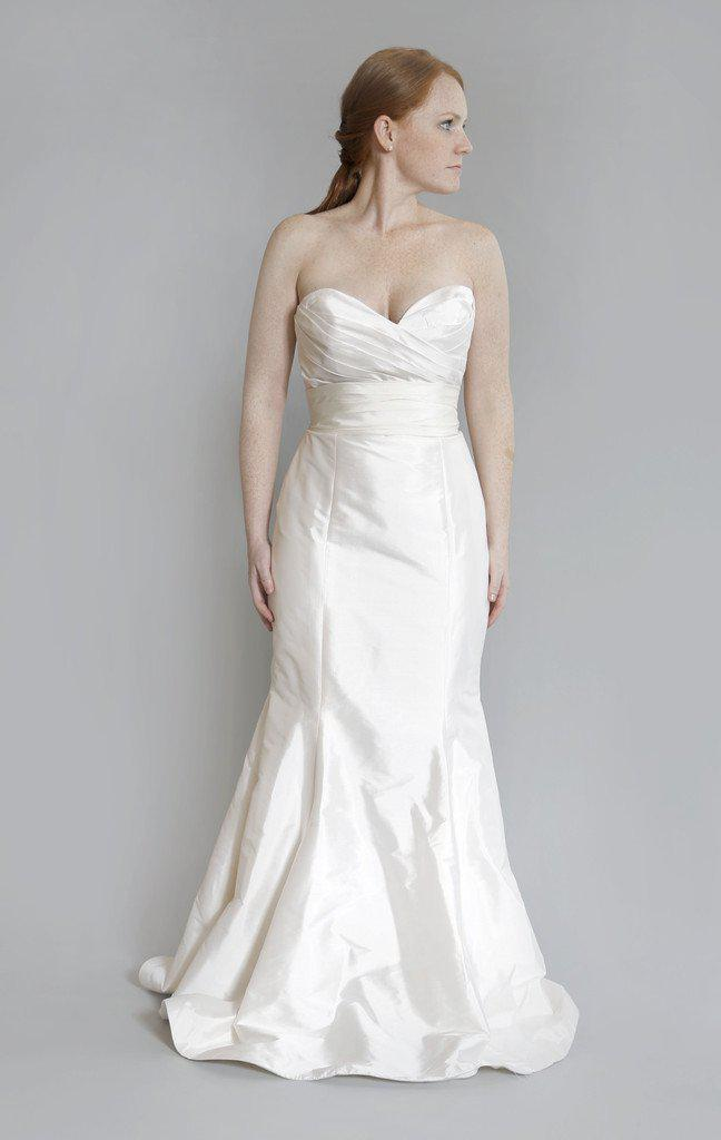 Tara Keely 'TK2060' Silk Strapless Dress - Tara Keely - Nearly Newlywed Bridal Boutique - 1