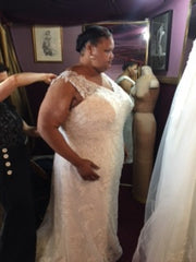 Jasmine Couture 'Nanette Gray' - Jasmine Couture Bridal - Nearly Newlywed Bridal Boutique - 1