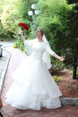 Custom 'White Ballroom' - Custom - Nearly Newlywed Bridal Boutique - 4