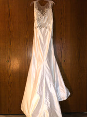 Isabelle Armstrong 'Helena' size 10 new wedding dress back view on hanger