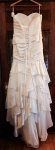 Essence of Australia 'D1732' size 16 new wedding dress back view on hanger