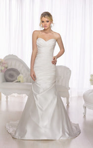 Essence of Australia 'D1732' size 16 new wedding dress front view on model