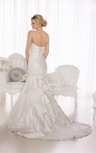 Essence of Australia 'D1732' size 16 new wedding dress back view on model