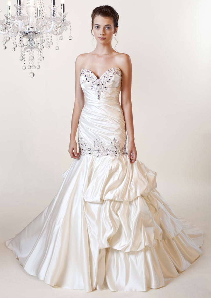 Winnie couture 39 aaliyah 3175 39 size 4 new wedding dress for Nearly new wedding dresses