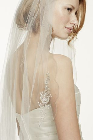 Oleg Cassini 'Beaded' - Oleg Cassini - Nearly Newlywed Bridal Boutique - 3