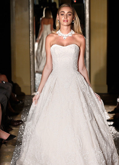Oleg Cassini 'Beaded' - Oleg Cassini - Nearly Newlywed Bridal Boutique - 1