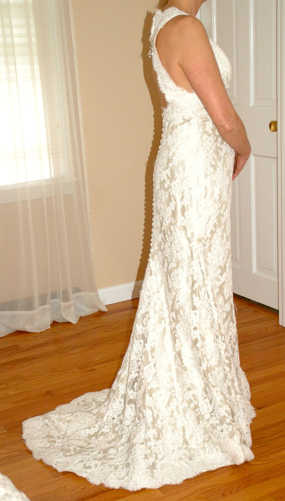 Custom  'Chantilly Place' - custom-made - Nearly Newlywed Bridal Boutique - 1