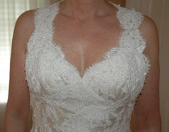 Custom  'Chantilly Place' - custom-made - Nearly Newlywed Bridal Boutique - 2