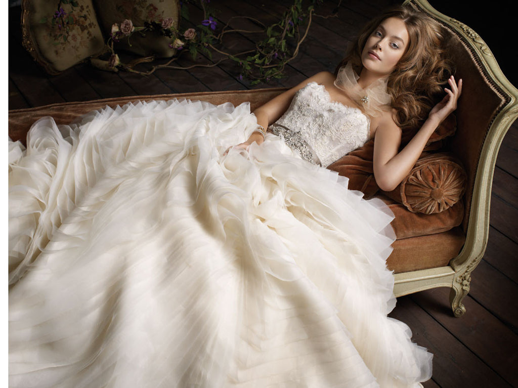 Lazaro '3100' - Lazaro - Nearly Newlywed Bridal Boutique - 1