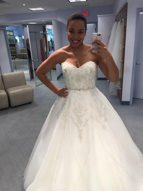 Alfred Angelo 'Tiana's Fairy Tale' - alfred angelo - Nearly Newlywed Bridal Boutique - 2