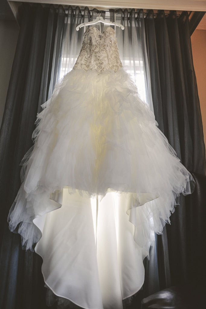 Davids Bridal 'Strapless Tulle' - David's Bridal - Nearly Newlywed Bridal Boutique - 2