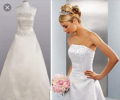 David's Bridal 'Michaelangelo' - David's Bridal - Nearly Newlywed Bridal Boutique - 3