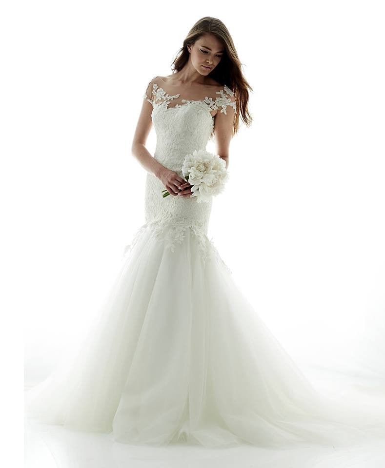 Romona Keveza 'L5100' - Romona Keveza - Nearly Newlywed Bridal Boutique - 5
