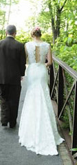 Sposa by St. Pucchi Lace Alencon Gown - Sposa by St. Pucchi - Nearly Newlywed Bridal Boutique - 1