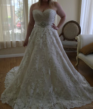Load image into Gallery viewer, Maggie Sottero 'Kimaya' size 18 new wedding dress front view on bride