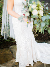 Load image into Gallery viewer, Martina Liana '803' size 10 used wedding dress front view on bride