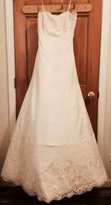Monique Lhuillier Zuzanna Strapless Wedding Dress - Monique Lhuillier - Nearly Newlywed Bridal Boutique - 2