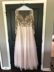 Hayley Paige 'Remmington' size 24 used wedding dress
