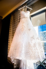 Oscar de la Renta 'Lace Dress' - Oscar de la Renta - Nearly Newlywed Bridal Boutique - 1