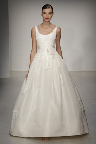 Amsale used and preowned wedding dresses nearly newly wed amsale chelsea junglespirit Image collections