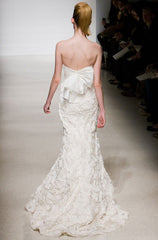 Amsale 'Penelope' Floral Wedding Dress - Amsale - Nearly Newlywed Bridal Boutique - 2