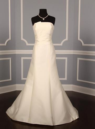 Anne Barge '168' size 8 new wedding dress front view on mannequin