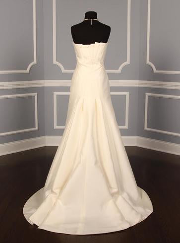 Anne Barge '168' size 8 new wedding dress back view on mannequin