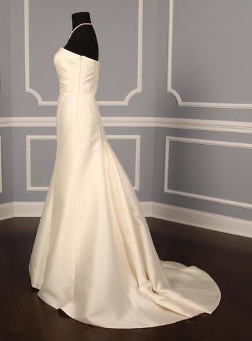Anne Barge '168' size 8 new wedding dress side view on mannequin