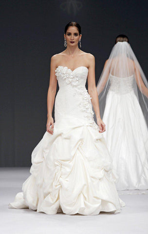 Anne Barge 'Avery' Silk Taffeta Ball Gown