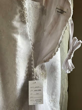 Load image into Gallery viewer, Kenneth Winston '1518' size 12 new wedding dress back view on hanger