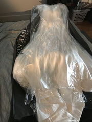 Moonlight 'J6503' size 4 used wedding dress in bag