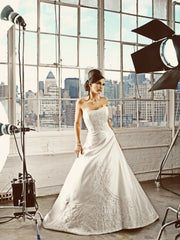 Matthew Christopher 'Roman Holiday' Style 2603 - Matthew Christopher - Nearly Newlywed Bridal Boutique - 1