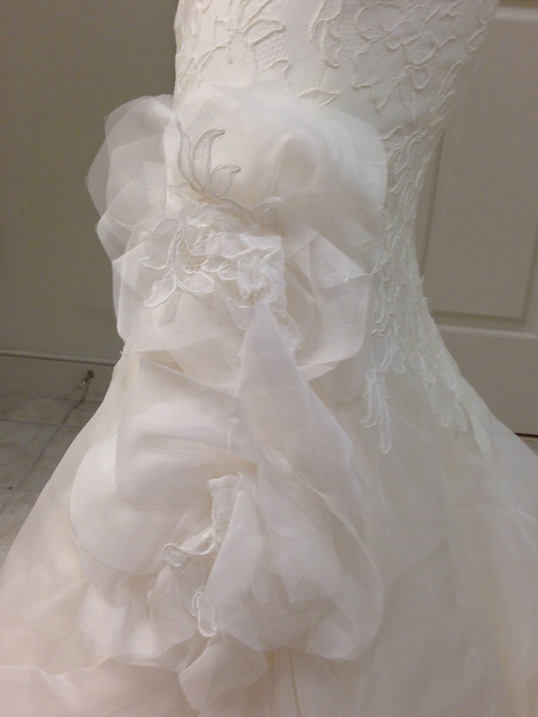 Marisa Style 920 Strapless Lace - Marisa - Nearly Newlywed Bridal Boutique - 2