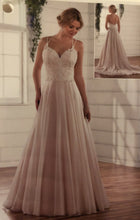 Load image into Gallery viewer, Essence of Australia 'Lace Organza And Tulle' size 10 used wedding dress front view on model